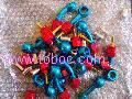 Motorcycle Teflon hose end fittings