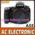 Sony Alpha DSLR SLT-A55 Digital Camera Body Black