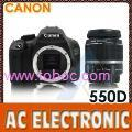 Canon EOS 550D Digital SLR Camera with Canon EF-S 18-55mm f/3.5-5.6 IS Lens Kit