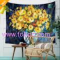 Van gogh Painting Art Wall Tapestry Sunflower Pattern Abstract Painting Unit Price $3.87